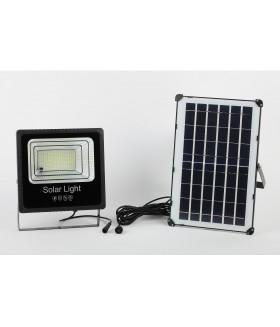 Прожектор светодиодный уличный на солн. бат. 100W, 1200 lm, 5000K, с датч. движения, ПДУ, IP65 ЭРА