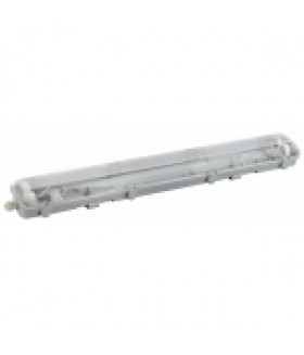 Светодиодный светильник IP65 под две светодиодные лампы T8 G13 600мм SPP-101-0-002-060 ЭРА