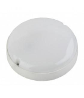 Cветильник светодиодный IP65 15Вт 1425Лм 4000К D175 КРУГ ЖКХ LED (40/480) SPB-201-0-40К-015 ЭРА