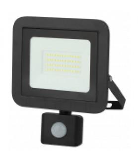 Прожектор светодиодный уличный 50Вт 4000Лм 6500К датчик регулируемый LPR-041-2-65K-050 ЭРА