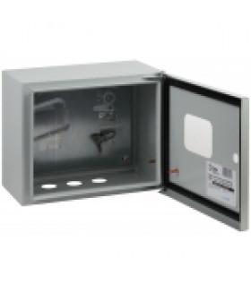 Металлический корпус навесной SHMPg(okno)-02 IP54 SIMPLE ЭРА SIMPLE ЩМПг