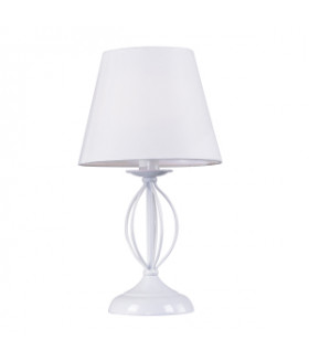 2043-501 Rivoli Настольная лампа Facil P1 белый 1*E14 40W (45)