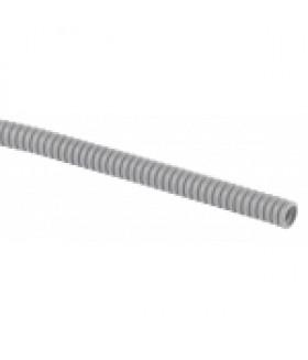 ЭРА Труба гофрированная ПВХ (серый) d 25мм с зонд. легкая 10м (72)