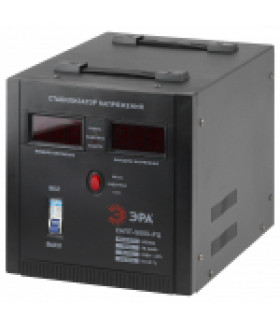 Стабилизатор напряжения переносной, ц.д., 90-260В/220В, 5000ВА СНПТ-5000-РЦ ЭРА