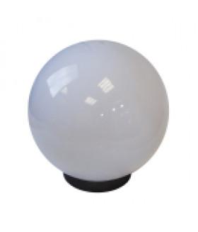 Светильник садово-парковый, шар белый призма D=200 mm НТУ 02-60-201 ЭРА