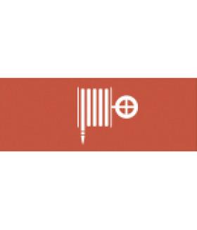 """Самоклеящаяся этикетка 200х60мм """"Пожарный гидрант"""" DPA/DBA (5/20000) INFO-DBA-009 ЭРА"""