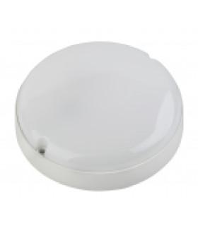 Cветильник светодиодный IP65 8Вт 760Лм 6500К D140 КРУГ ЖКХ LED (40/960) SPB-201-0-65К-008 ЭРА