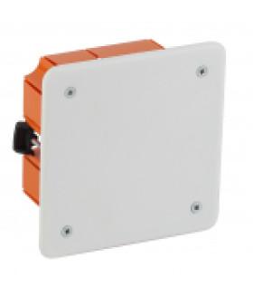 Коробка распаячная KRP 92х92х45мм для полых стен саморез. пласт. лапки, крышка IP20 (126/1134) ЭРА