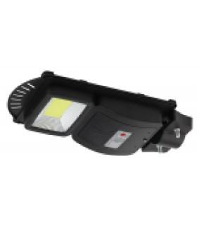 Консольный светильник на солн. бат.,SMD, 20W, с датч. движ., ПДУ, 400 lm, 5000К, IP65 (6/180) ЭРА