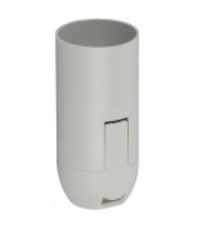 ЭРА Патрон Е14 подвесной,пластик, белый (x50)
