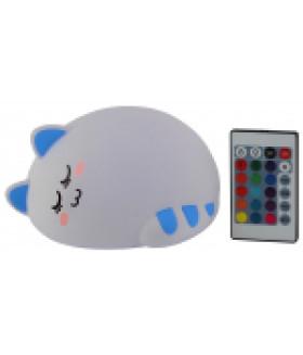 Светодиодный настольный светильник ЭРА NLED-415-2W-BU белый с синим
