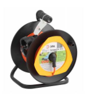 Удлинитель силовой ЭРА RPx-1e-3х0.75-20m на п. катушке c/з 1 гн 20м ПВС 3х0.75