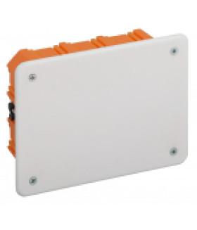 Коробка распаячная KRT 120х92х45мм для твердых стен, саморез., крышка IP20 (98/882) ЭРА