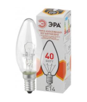 Лампа накаливания ЭРА ДС (B36) свечка 40Вт 230В E14 цв. упаковка
