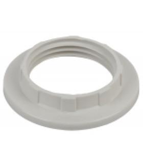 ЭРА Кольцо для патрона E14, пластик, белое
