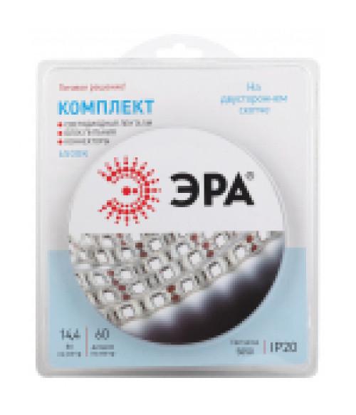 Комплект светодиодной ленты ЭРА 5050kit-14,4-60-12-IP20-6500-5m