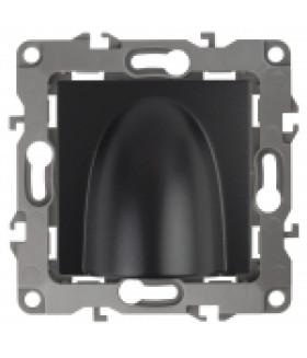 Вывод кабеля, Эра12, антрацит 12-6003-05 ЭРА