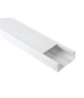 Кабель-канал парапетный 100x40 белый (12м.) (6/240) ЭРА