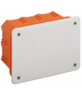 Коробка распаячная KRT 120х92х70мм для твердых стен, саморез., крышка IP20 (56/504) ЭРА