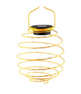 Садовый подвесной светильник Спираль на солнечной батарее, 16 см ERASF024-28 ЭРА