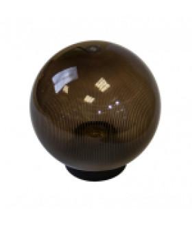 Светильник садово-парковый, шар дымчатый призма D=200 mm НТУ 02-60-205 ЭРА