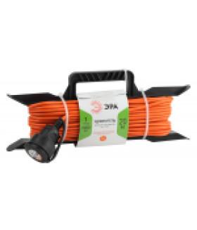Удлинитель силовой ЭРА UFx-1-2x1.0-20m-IP44 на рамке б/з 1 гн 20м ПВС 2х1