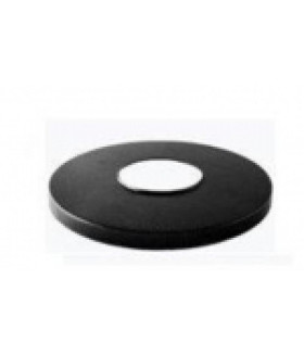 Накладка на стальную опору черная НТУ ЭРА
