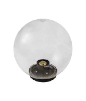 Светильник садово-парковый, шар прозрачный D=200 mm НТУ 01-60-202 ЭРА