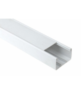 Кабель-канал парапетный 100x60 белый (8м.) (4/112) ЭРА