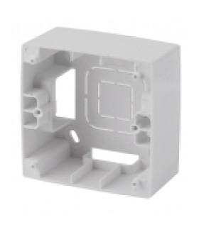 Коробка наклад. монтажа 1 пост, Эра12, белый 12-6101-01 ЭРА