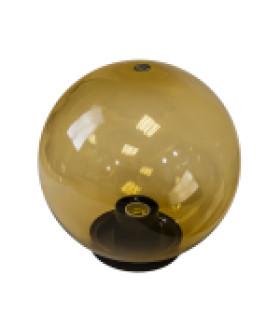 Светильник садово-парковый, шар золотистый D=200 mm НТУ 01-60-203 ЭРА