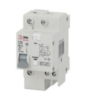 АД-12 (AC) C63 30mA 6кА 1P+N - SIMPLE-mod-35 Автоматический выключатель дифференциального тока ЭРА S