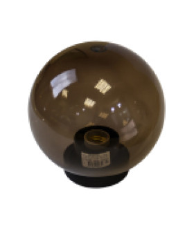 Светильник садово-парковый, шар дымчатый D=200 mm НТУ 01-60-205 ЭРА