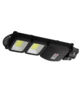 Консольный светильник на солн. бат.,COB,40W, с датч. движ.,ПДУ,750lm, 5000К, IP65 (6/126) ЭРА