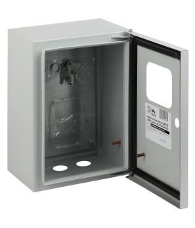 Металлический корпус навесной SHMPg(okno)-00 IP54 ЭРА SIMPLE ЩМПг (окно)-00