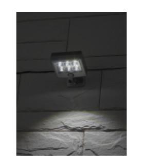 Прожектор с датчиком движения c выносной солнечной батареей, 6LED,150lm ERAFS024-07 ЭРА