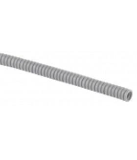 ЭРА Труба гофрированная ПВХ (серый) d 25мм с зонд. легкая 100м (10)
