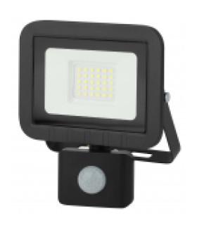 Прожектор светодиодный уличный 30Вт 2400Лм 6500К датчик регулируемый LPR-041-2-65K-030 ЭРА