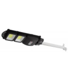 Консольный светильник на солн. бат.,COB,с кронштейном,40W,с датч.движ., ПДУ,750lm, 5000К, IP66 ЭРА