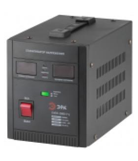 Стабилизатор напряжения переносной, ц.д., 90-260В/220В, 2000ВА СНПТ-2000-РЦ ЭРА