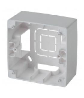 Коробка наклад. монтажа 1 пост, Эра12, алюминий 12-6101-03 ЭРА