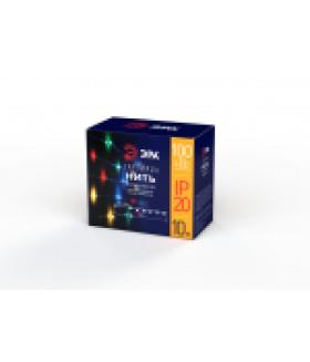 Гирлянда LED Нить 10 м мультиколор 220V (100/1800) ENIN -10NM ЭРА