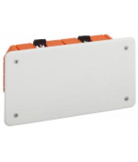 Коробка распаячная KRP 172х96х45мм для полых стен саморез. пласт. лапки, крышка IP20 (70/630) ЭРА