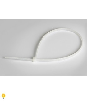 Хомут нейлоновый Smartbuy, 2,5х120, белый (SBE-CT-25-120-w)/100
