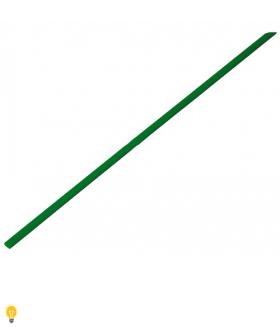 Термоусаживаемая трубка 2/1, зеленая, 1 метр (SBE-HST-2-g)
