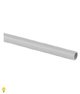 Труба гладкая ЭРА жесткая (серый) ПВХ d 16мм (3м) TRUB-16-PVC