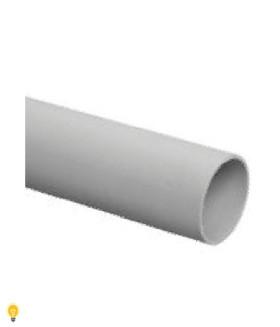 Труба гладкая ЭРА жесткая (серый) ПВХ d 20мм (3м) TRUB-20-PVC