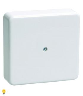 Коробка распаячная 75х75х20 (без клеммы) белая IP40 ЭРА