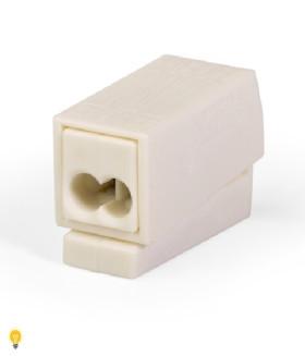 Клемма для светильников, светло-серая, 105 ° C 224-112
