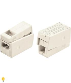 Клемма для светильников 0,5-2,5 мм2, с пастой 224-122